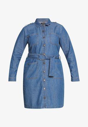 DRESS - Dongerikjole - vintage blue