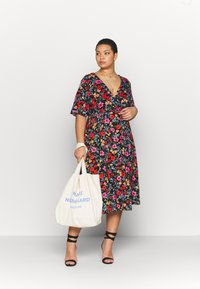 Simply Be - FULL SKATER DRESS - Day dress - multicolor