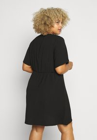 Simply Be - HERRINGBONE DRESS - Robe chemise - black - 2