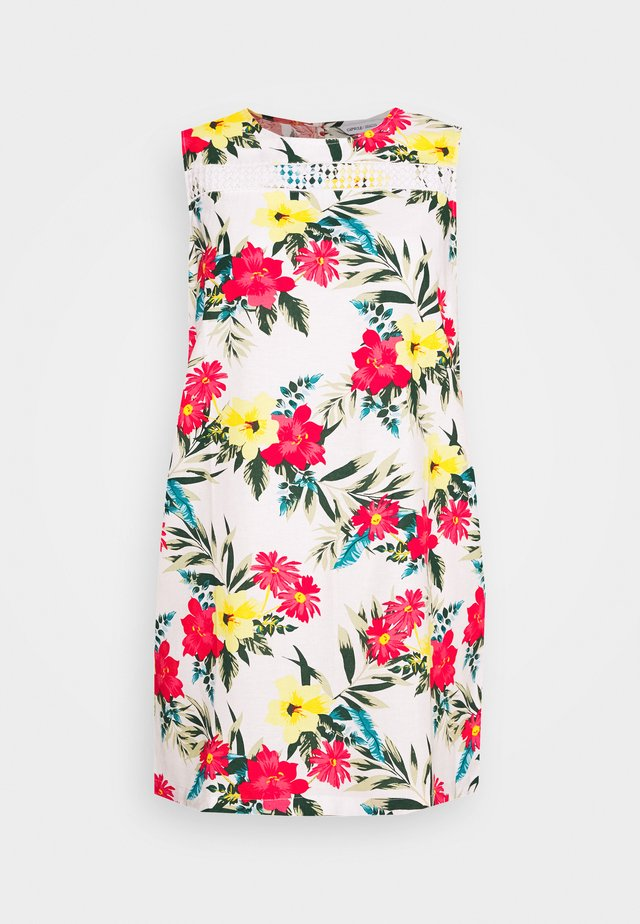 TRIM SHIFT DRESS - Korte jurk - multicoloured