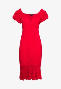 Simply Be - BODYCON DRESS - Cocktailklänning - red - 0