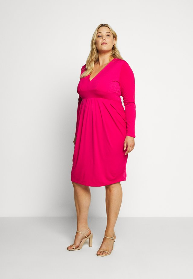 ITY BODYCON DRESS - Jerseykjoler - hot pink