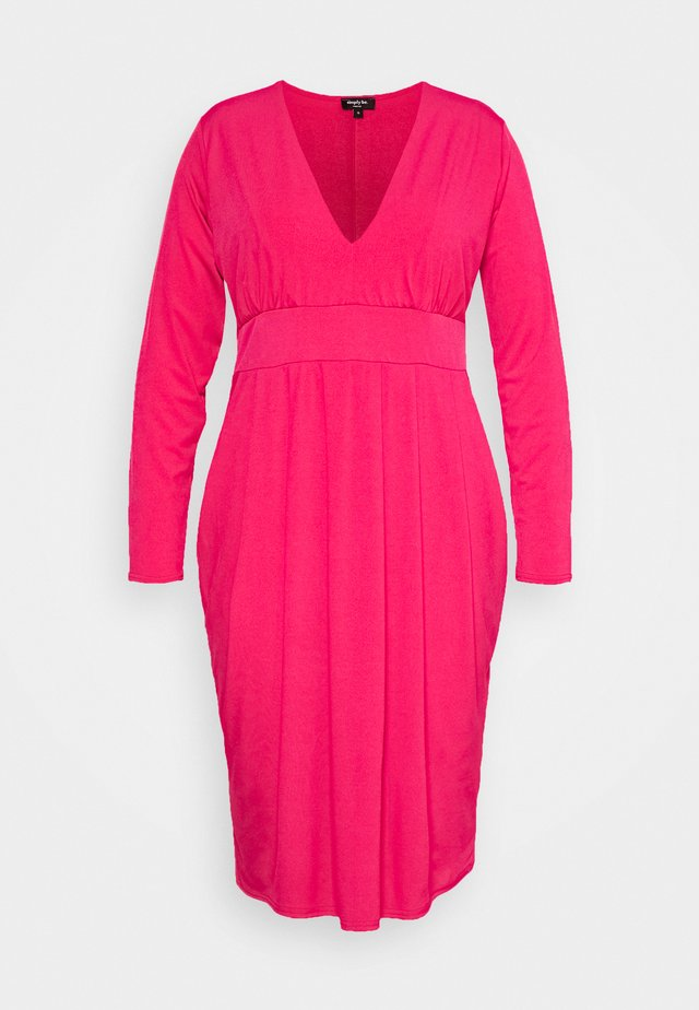 ITY BODYCON DRESS - Jersey dress - hot pink
