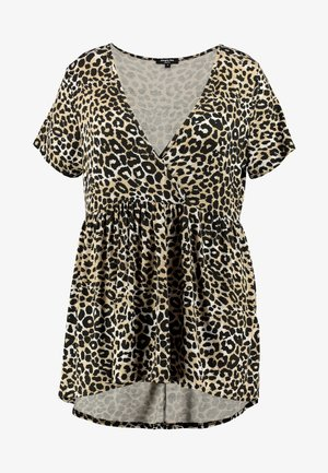 PRINTED SWING TUNIC - T-shirts med print - multi-coloured