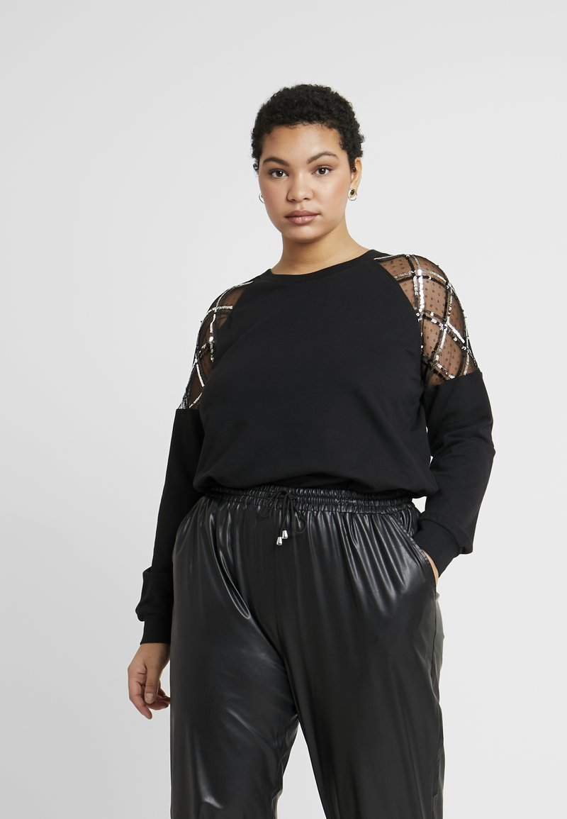 Simply Be - Sweatshirt - black