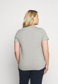 Simply Be - SEQUIN - T-shirts print - grey marl - 2