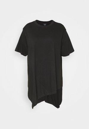 ASYMMETRIC - T-shirt print - black