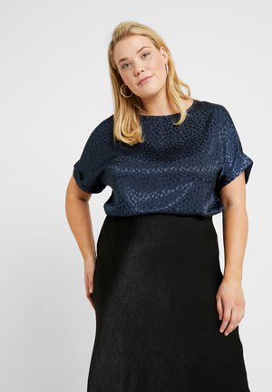 SHELL - Blouse - navy