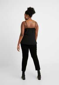 Simply Be - EMBELLISHED CAMI - Top - black/pink - 2