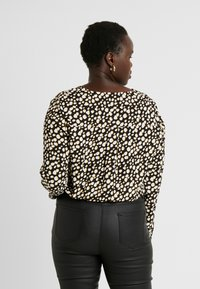 Simply Be - PRINTED BODY - Blouse - ochre/black - 2