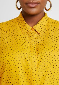 Simply Be - DIPPED BACK - Bluser - yellow - 6
