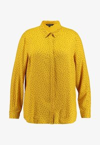 Simply Be - DIPPED BACK - Bluser - yellow - 5