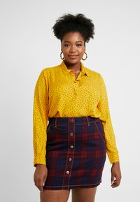 Simply Be - DIPPED BACK - Bluser - yellow - 0