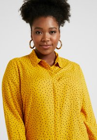 Simply Be - DIPPED BACK - Bluser - yellow - 4