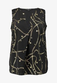 Simply Be - Camicetta - black/gold - 4