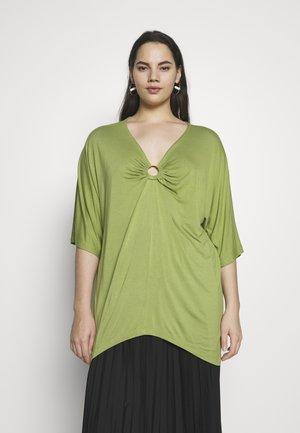 RING DETAIL  - Langærmede T-shirts - olive