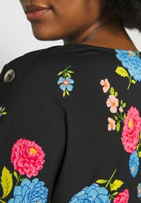 CAPSULE by Simply Be - BUTTON DETAIL BOXY  - Blus - multicolor - 5