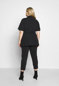 Simply Be - SLINKY TIE WAIST - T-shirts print - black - 2