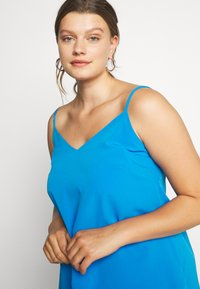 Simply Be - FACED CAMI - Toppe - blue - 3