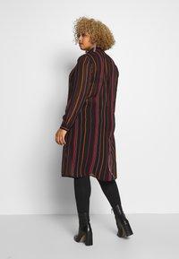 Simply Be - LONGLINE SPLIT SIDE - Button-down blouse - multicolor - 2