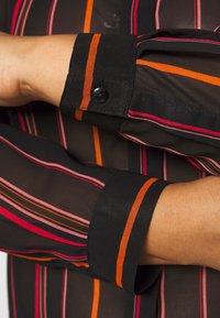 Simply Be - LONGLINE SPLIT SIDE - Button-down blouse - multicolor - 5