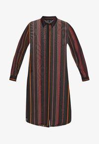 Simply Be - LONGLINE SPLIT SIDE - Button-down blouse - multicolor - 4