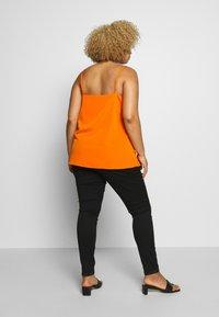 Simply Be - V NECK FACED  - Blouse - burnt orange - 2