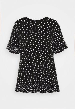 SPOT RUFFLE - T-shirt imprimé - mono
