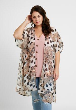 LONG LENGTH KIMONO - Summer jacket - offwhite