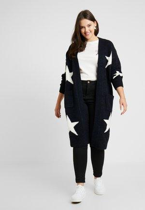 ELEVATED ESSENTIALSEDGE TO EDGE - Cardigan - navy star