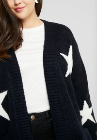 Simply Be - ELEVATED ESSENTIALSEDGE TO EDGE - Cardigan - navy star - 5