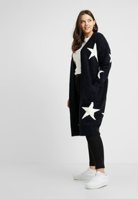 Simply Be - ELEVATED ESSENTIALSEDGE TO EDGE - Cardigan - navy star - 1