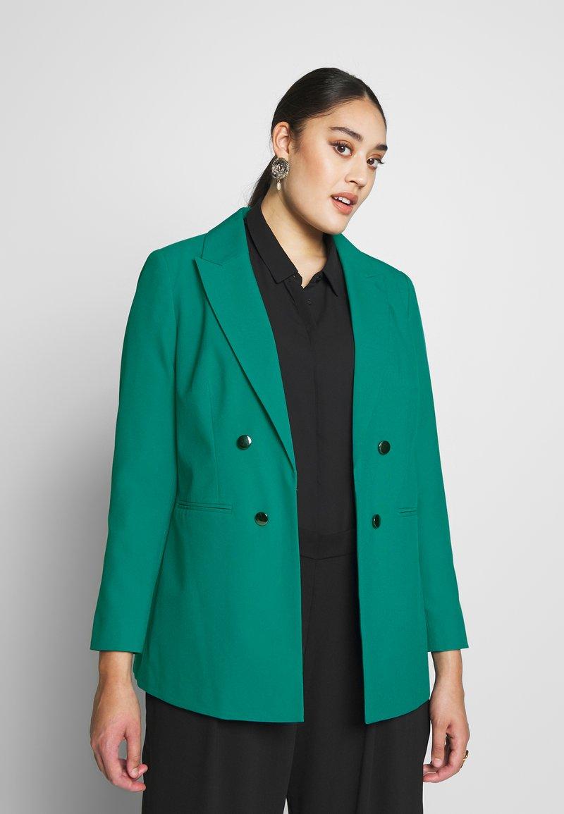 Simply Be - ESSENTIAL FASHION - Blazer - green