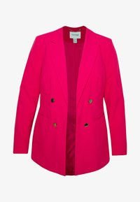 Simply Be - ESSENTIAL FASHION - Kort kåpe / frakk - raspberry - 3