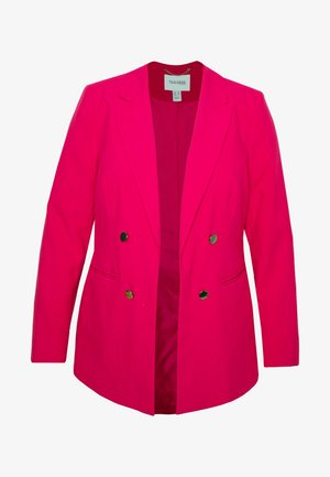 ESSENTIAL FASHION - Short coat - raspberry
