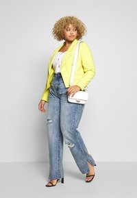 Simply Be - ESSENTIAL FASHION NEW STYLE - Blazer - lime - 1