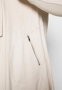 Simply Be - LONGLINE WATERFALL JACKET  - Kort kappa / rock - pale stone - 5