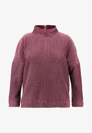 HIGH NECK - Maglione - pink