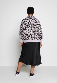 Simply Be - LEOPARD JUMPER - Strikkegenser - lilac/multi - 2