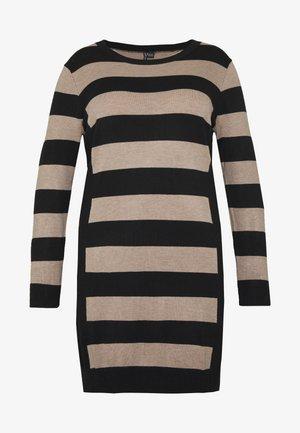 ILLUSION - Strikket kjole - multi-coloured