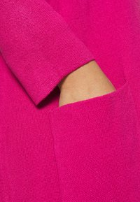 Simply Be - LONGLINE COATIGAN - Vest - bright pink - 5