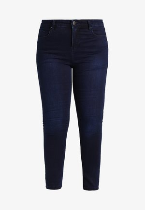 LUCY HIGH WAIST SUPER SOFT - Jeans Skinny - dark indigo