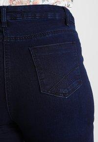 Simply Be - LEXI HIGH WAIST SUPER SOFT - Jeans slim fit - dark indigo - 4