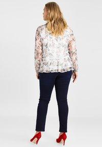 Simply Be - LEXI HIGH WAIST SUPER SOFT - Jeans slim fit - dark indigo - 2
