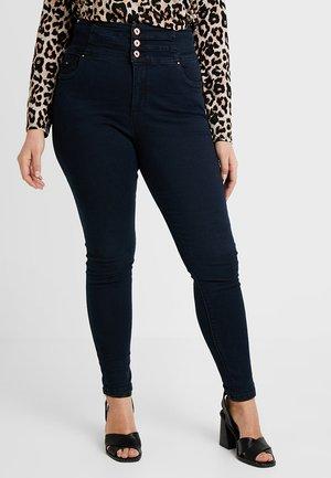 SHAPE & SCULPT EXTRA HIGH WAIST - Jeansy Skinny Fit - dark indigo