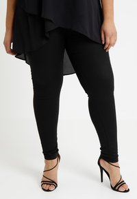 Simply Be - SOPHIA FLY FRONT  - Jeans Skinny Fit - black - 0