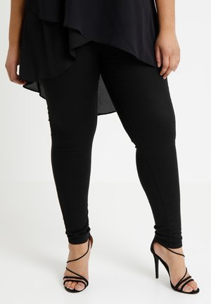 SOPHIA FLY FRONT  - Jeans Skinny Fit - black