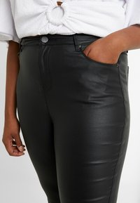 Simply Be - HIGH WAIST - Pantalones - black - 4
