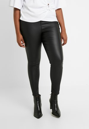 HIGH WAIST - Pantaloni - black