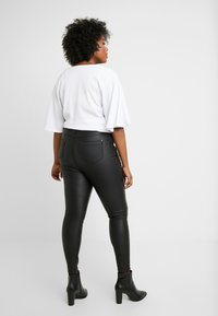Simply Be - HIGH WAIST - Pantalones - black - 2